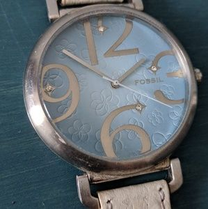 Fossil watch!